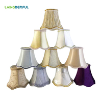 Nordic Style Fabric Lamp Cover Art Deco Lampshade Simple Light Shade for Chandelier Wall Lamp Crystal Lamp Lampshades