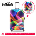 Elastic Travel Accessories Colorful Ripple Stars Print Trolley Luggage Protective Cover Apply For 18-30 Inch Travel Suitcase