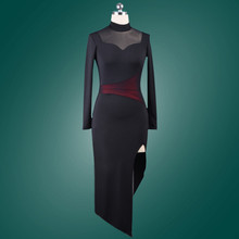 black latin american dance dresses women latin dress modern dance costume sexy tango dresses  latino women latin salsa dress