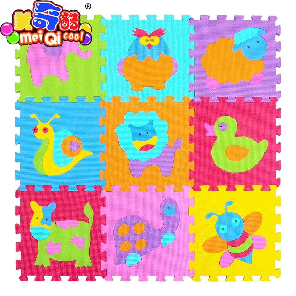 Mei qi kühlen baby EVA Schaum Spielen Puzzle Matte/9 teile/los ...