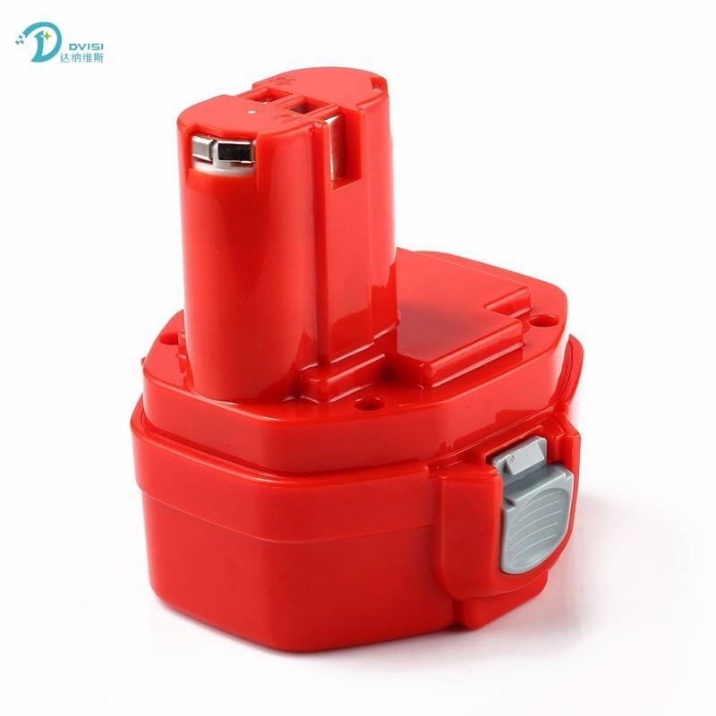 For Makita 14.4V 3600mAh DVISI Ni-MH Power Tools Rechargeable Battery Pack for Makita Cordless Drill PA14 1420 1422 1433 1434 24v 3000mah 3 0ah rechargeable battery pack power tools batteries cordless drill ni mh battery for makita bh2430 bh2433