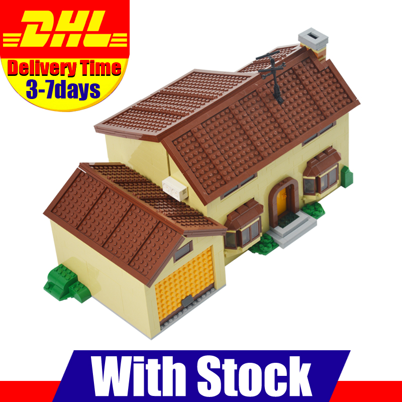 2018 MOC DHL Lepin 16005 Simpson's family Kwik-E-Mart Building Blocks Bricks Set Assembled Toys Gifts Clone 71006 2018 moc dhl lepin 16005 simpson s family kwik e mart building blocks bricks set assembled toys gifts clone 71006