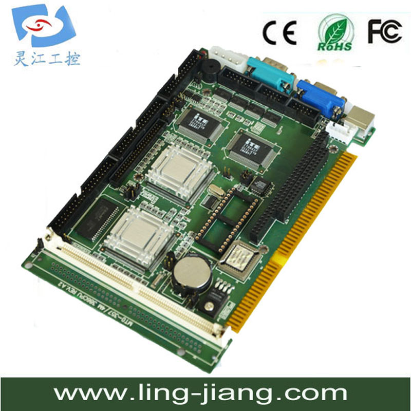 все цены на Aaeon SBC-357/4 industrial motherboard half-size CPU card with MITE 8661F/ISA single board computer онлайн