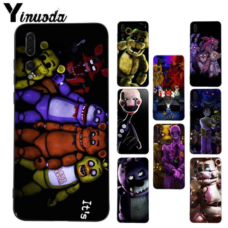 Yinuoda おかしい sfm fnaf アニマトロニクスアート電話ケース huawei 社 P20pro mate10lite p9 p10plus honor 8x 7A nova3i mate20lite funda