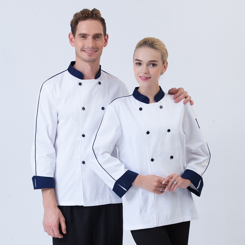 New Design Chef Jacket Modern Style White Food Service Restaurant Uniform Hotel Kitchen Cook Clothes 7436 In Jackets From Novelty Special Use