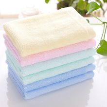 Color bamboo fiber face towel  hand for The child baby Small about 25x25cm Cotton 100% Face For Adults Baby Towels