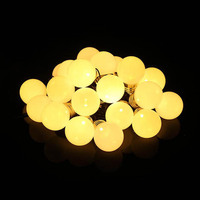 MUQGEW 20 LED Window Curtain Lights String Star Lamp House Party Decor Striking Stunning Lighting Fairy