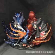 22CM Naruto Action Figure Dolls Anime Naruto Kakashi Figure PVC Toys Model Decoration Collection Birthday Gift Toys for Children free shipping sexy 9 one piece anime p o p cp9 kalifa boxed 22cm pvc action figure collection model doll toys gift