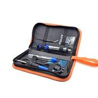 Newest 60W 220V EU Electric Soldering Iron Kit Adjustable Temperature Welding Starter Tool 23x18x4cm