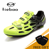 Tiebao Professional Road Shoes Rotating Screw Steel Wire With Fast Cycling Shoes Road Bike Shoes TB16 B1259