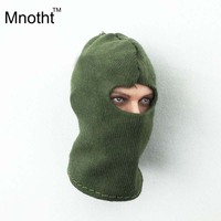 1 6 Soldier Model Accessories Green Hood Mask DIY Secret Military Operations Special Forces Robbers For