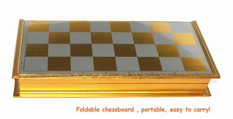 Magnetyczne szachy zestaw Cartoon znaków gra w szachy średniowieczne szachy z szachownicą Family Party zabawa podróży gra w szachy grać w grę