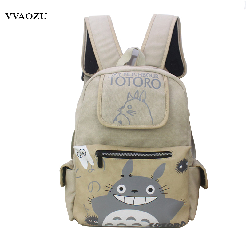 New Totoro Backpacks Japanese Anime My Neighbor Totoro Cosplay Shoulder Bag Laptop Rucksack School Bags Mochila for Teenagers цены