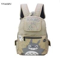 Nouveau Totoro Sacs À Dos Japonais Anime Mon Voisin Totoro Cosplay Épaule Sac D'ordinateur Portable Sac À Dos Sacs D'école Mochila pour Les Adolescents