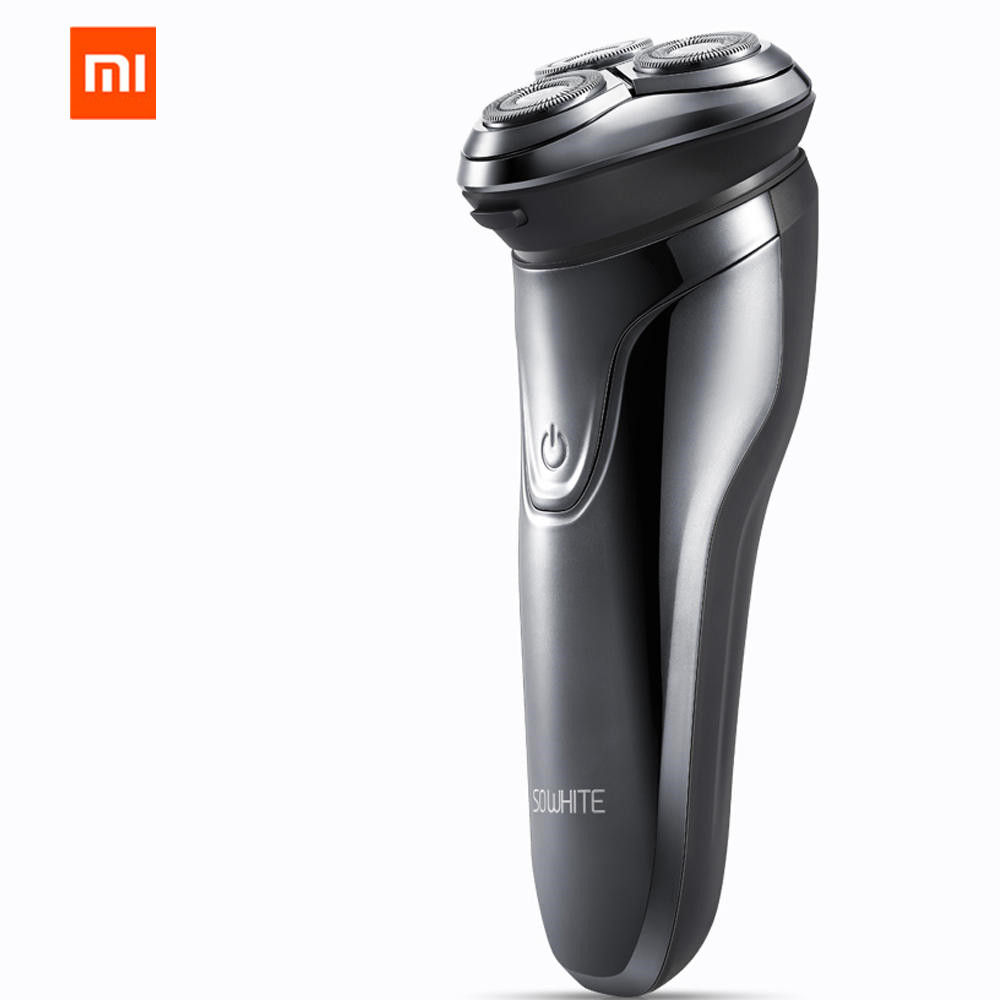 Image 2 - XIAOMI Mijia Soocas SO WHITE Electric Razor Shaver Wireless 3D Smart Control USB Charging Blocking Protection IPX7 Waterproof-in Smart Remote Control from Consumer Electronics