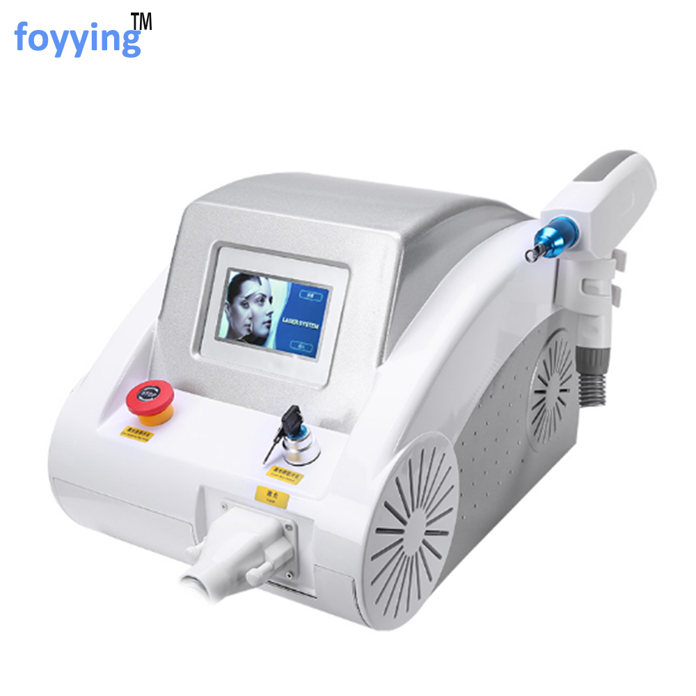 Foyying 2019 hot 1064nm 532nm 1320nm ND YAG laser di rimozione del tatuaggio del sopracciglio macchina di rimozione del pigmento