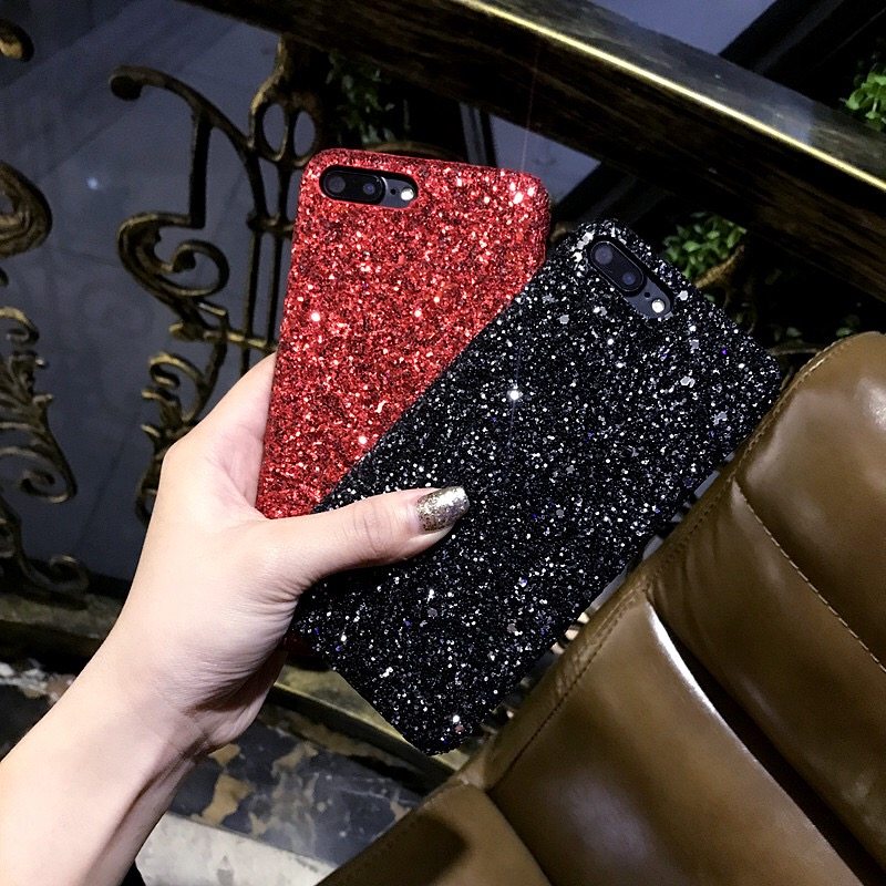 2018 New Phone Cases For Vivo V7 Back Covers For Vivo V7 Plus Women Shining Sparkle  Bling Glitter Hard Case For Vivo Y75 Cases 79a240ffb0