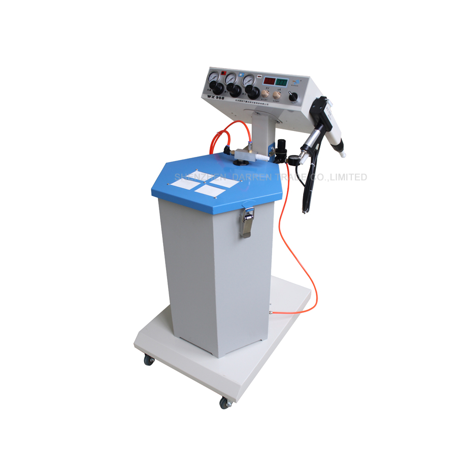 1pcs Electrostatic Powder Coating machine WX-958 Electrostatic Spray Powder Coating Machine Spraying Gun Paint fhis 65 coating machine spray valve three anti paint fan shaped