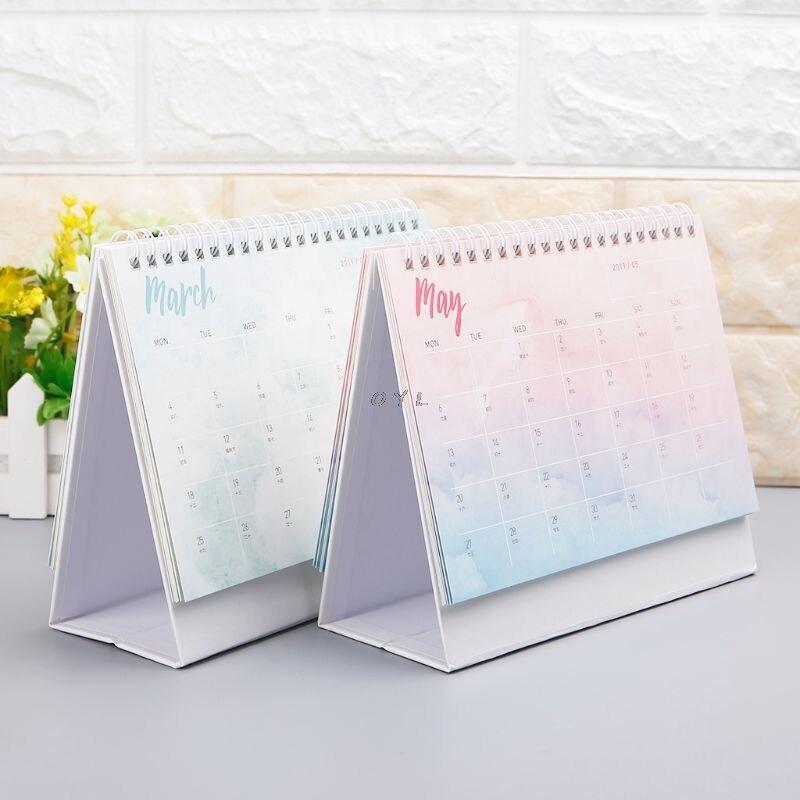 Calendars, Planners & Cards Office & School Supplies Logical 2019 Lovely Christmas Calendar Diy Desktop Calendar Agenda Organizer Daily Schedule Planner 2018.09~2019.12