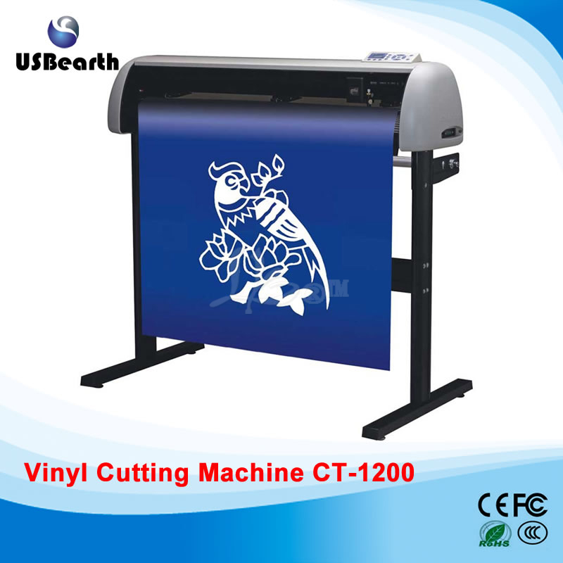 Free shipping Vinyl cutting plotter cutter machine CT-1200 free shipping to russia vinyl cutting plotter