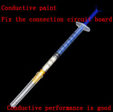 0.3ml Conductive Silver Paint Conductive Adhesive Conductive Silver Paste for Circuit Board Repair