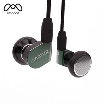 Smabat ST-10 Ear Hook Earbud HIFI Metal Earphone 15.4mm Dynamic Driver Smabat Flagship Earbud With Detachable MMCX Cable ST10 M1 - DISCOUNT ITEM  25% OFF All Category