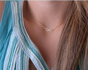 2015 New Fashion Casual Bohemia Simple Personality Cross Lariat Pendant Silver Plated Infinity statement Choker Necklace Jewelry