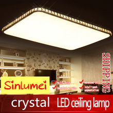 Flush Mount Modern Led Ceiling Lights For Living Room Lampara Techo Light Fixtures Deckenlampe Kitchen Lamp(China)