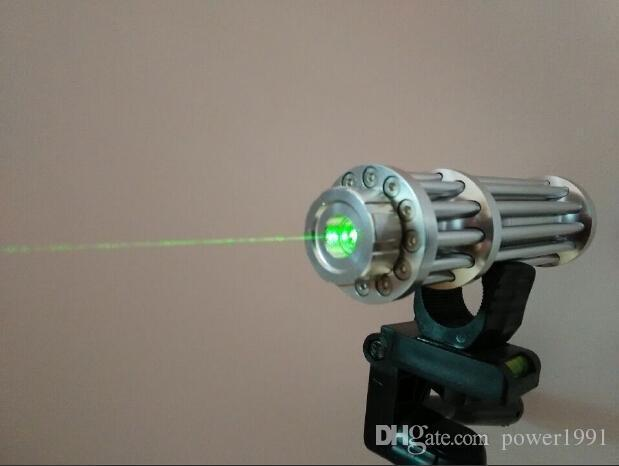 New 532nm Green laser pointer Focusable burn matches lit cigarette Hot baby free shipping