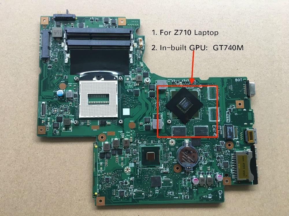 все цены на Original New 11S90004565 DUMB02 REV 2.1 For Lenovo ideapad z710 Laptop motherboard with GT740M Video card онлайн