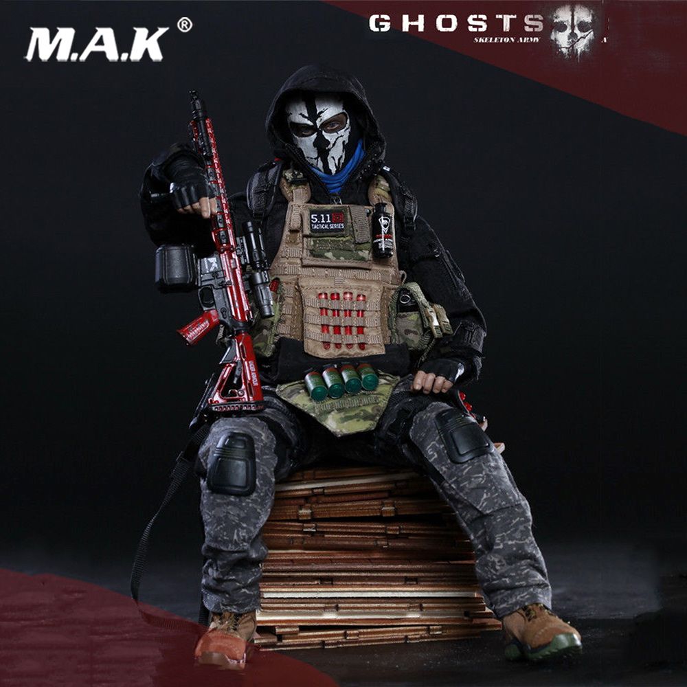 Action & Toy Figures Dynamic Collectible Full Set Solider Action Figure 73010 1/6 Doomsday War Series End War Death Squad K Caesar For Fans Holiday Gift