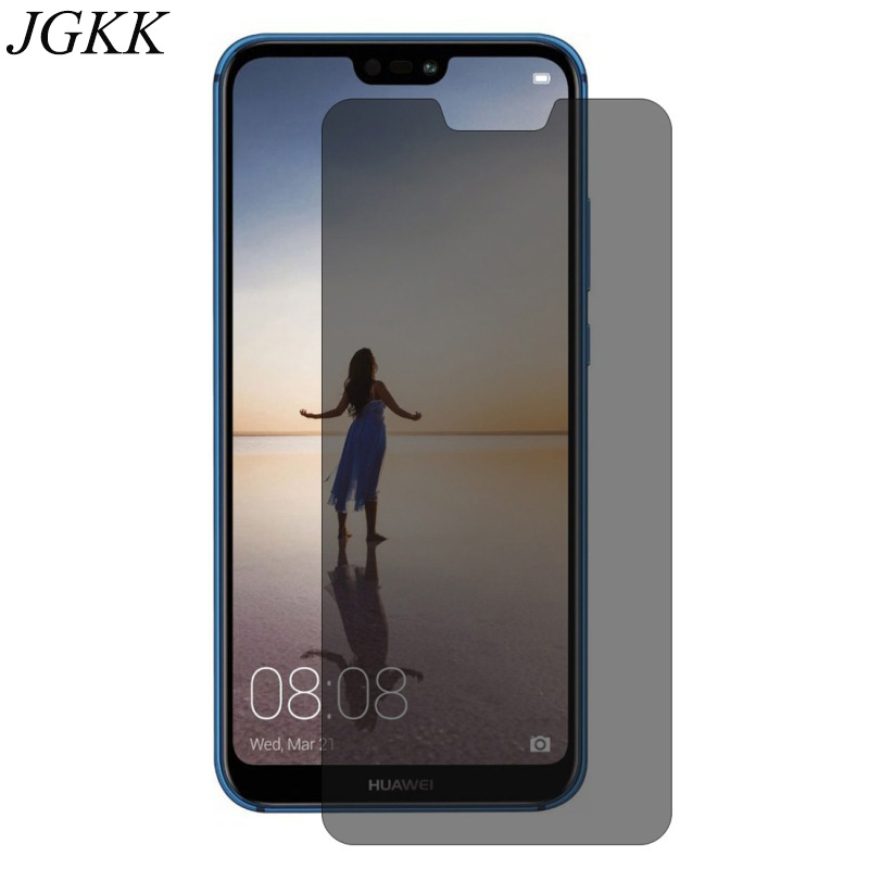 US $2 71 32% OFF|JGKK 2 5D Anti Spy Black Screen Protector For Huawei Nova  3E 3i Privacy Tempered Glass For Nova 3i Protective Film For Nova 3-in