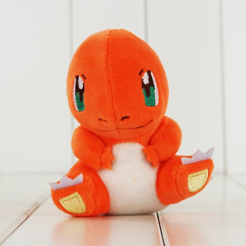 1 st 11cm Anime Cartoon Charmander Plush Toy Charizard Fyllda Mjuka Dockor Great Gift
