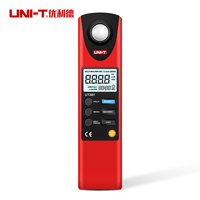 Aletler'ten Seviye Ölçme Cihazları'de UNI T UT381 UT382 Illuminometers ölçüm FC & LUX otomatik aralığı veri kaydı seviye ölçüm aletleri