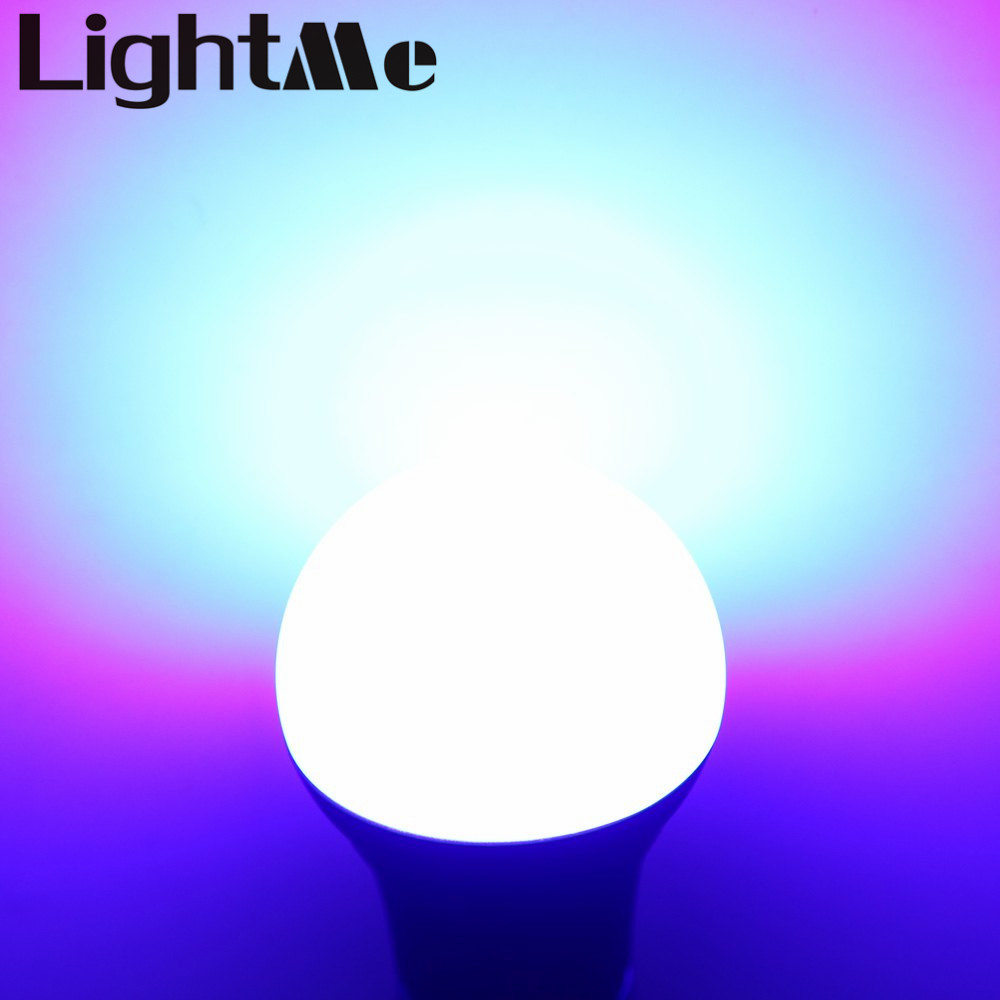 2016 Hot  E27 7.5W RGB Led Bubble Ball Bulbs 4.0 Smart LED Bulb Bluetooth Controlled By Smartphone Lighting Lamp for Party Decor xenon wi fi bulb smart wreless bulb app control rgb e27 led lamps hot sale smart led lighting bulbs works with amazon echo alexa