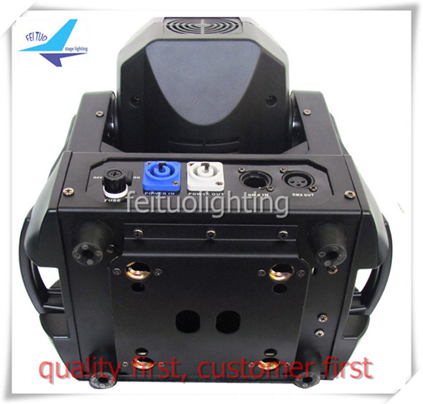 4 pieces led stage move head dmx gobo light 180w spot moving head
