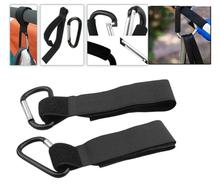4 pieces Universal Bag Hook for Wheelchair Stroller Carabiner Clips Baby Strollers Hooks Shopping Clip Load Capactiy 3KG