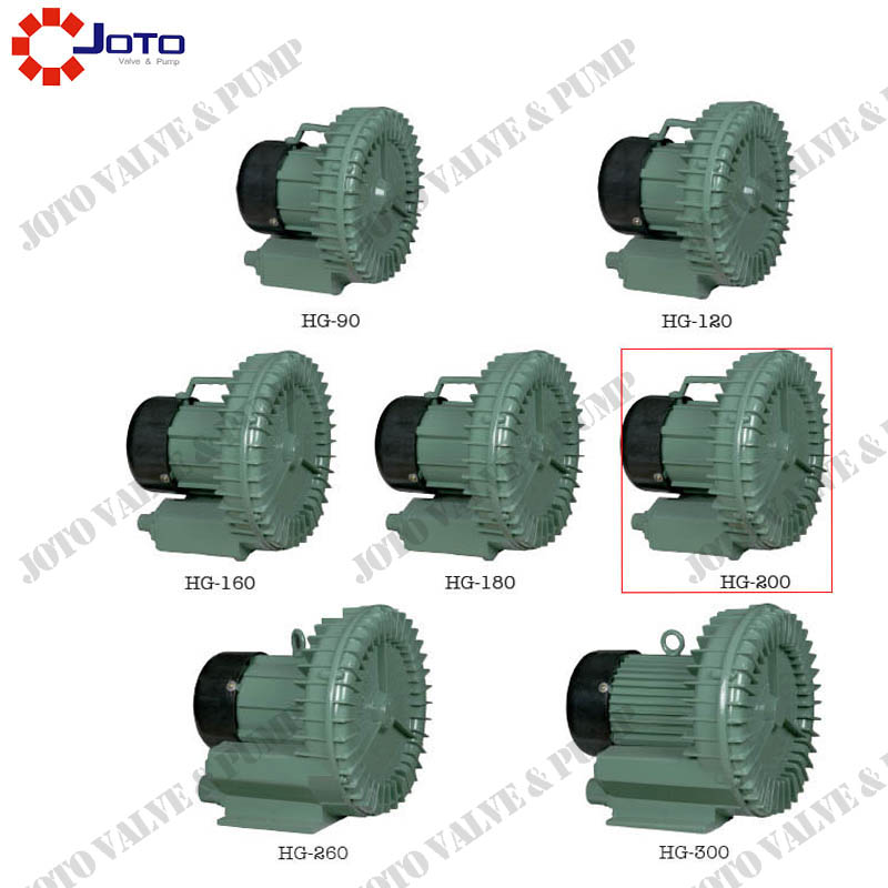 HG-200 0.2kw 220v 50hz Ring Blower 220V Whirlpool aquarium pump oxygen machine hg 550 high pressure blower 80m3 h 220v 380v 50hz electric ponds pool oxygen pump