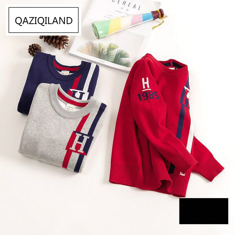 kids sweaters boys striped sweaters children pullover 2018 spring autumn baby boy knitted children boy sweater winter clothes 2018 autumn winter knitted sweaters pullovers warm sweater baby girls clothes children sweaters kids boys outerwear coats