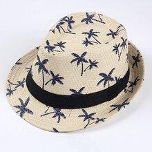 BONJEAN do mar do Verão chapéu de palha Panamá chapéu de sol para homens  férias mulheres casual Praia aba larga jazz chapéus hom. 546e2f3254