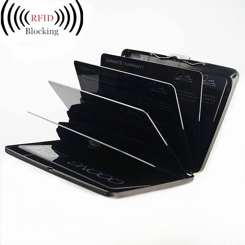 Amico business credit id card holder gallery card design and card amico business credit id card holder choice image card design and qoong rfid travel card wallet reheart Gallery