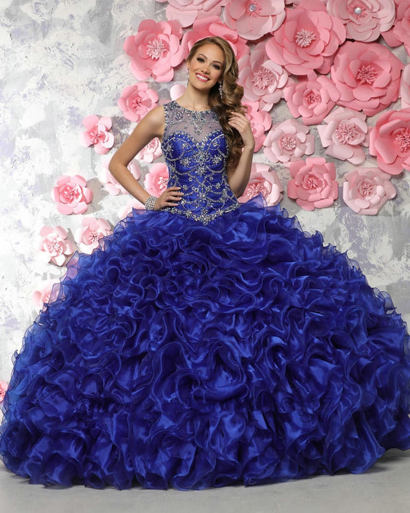Popular Blue Sweet 15 Dresses-Buy Cheap Blue Sweet 15 Dresses lots ...