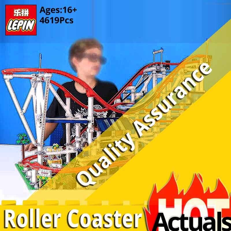 Lepin Créateur Série 15039 Roller Coaster Modèle Assemblage Blocs de Construction autobloquant Briques Jouets compatible legoinglys 10261