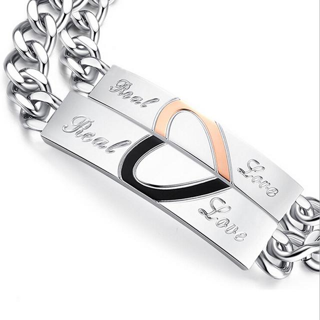 Real Love Couple Bracelets