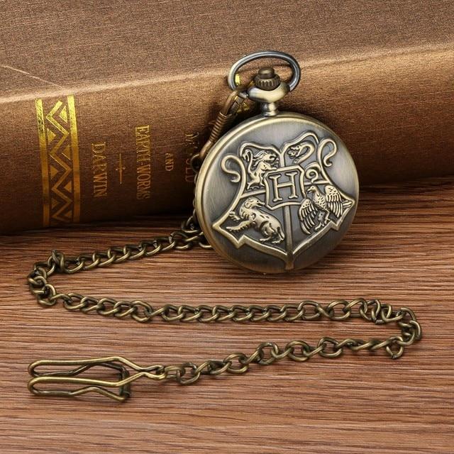 Nostálgico clásico personalizado patrón Steampunk Vintage cuarzo romano números hueco reloj de bolsillo regalo Dropshipping