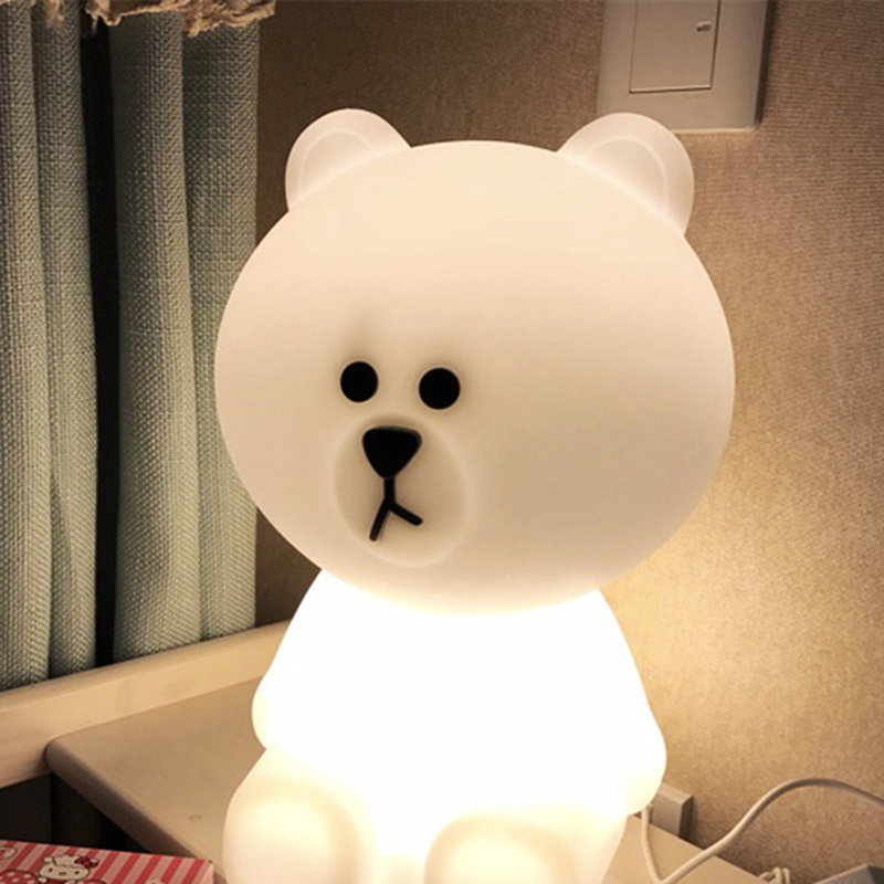 led lampada de mesa luz noite 03