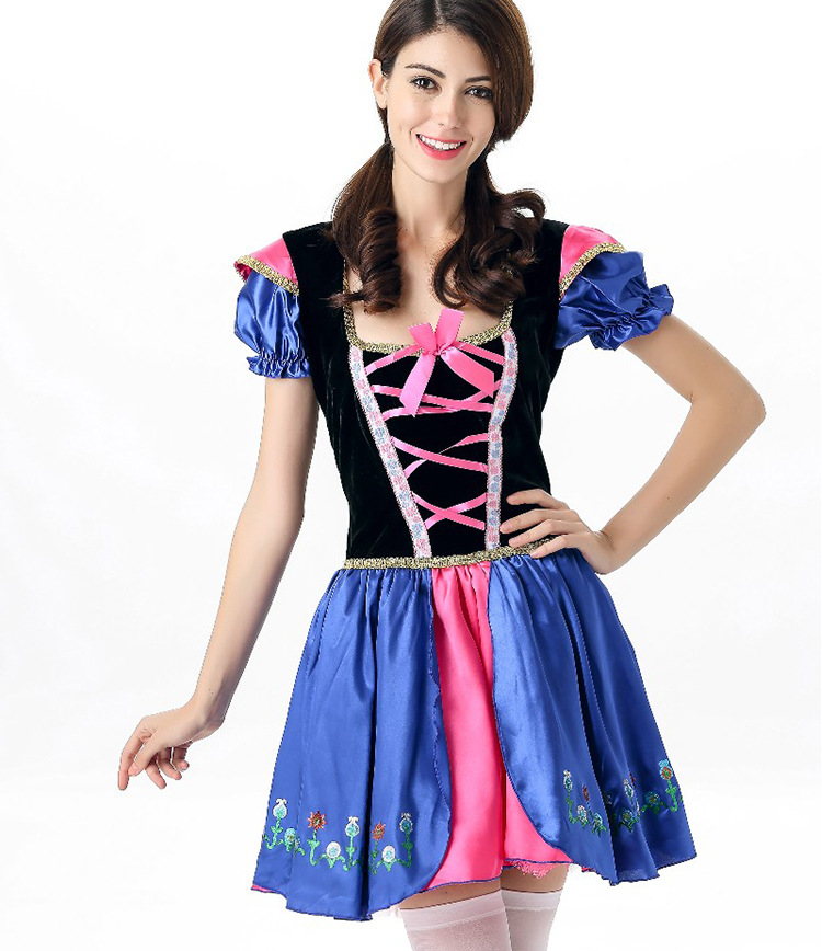 Beer Bar Coffee House Waitress Maid Costume For Woman Oktoberfest ...