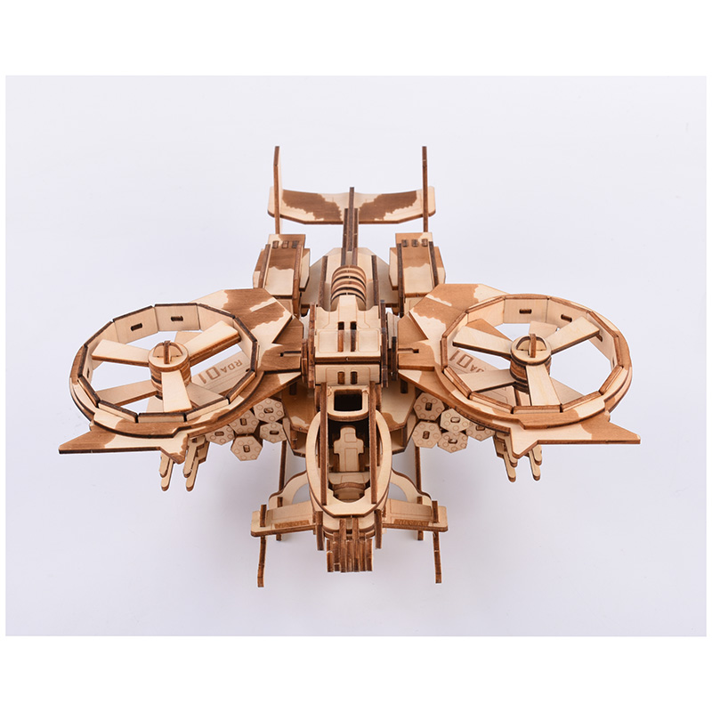 Military Helicopter 3D Puzzle Child Boy Girl Model Paper DIY Educational Toy