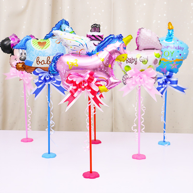 Table Aluminum Balloons Floating Balloons Column For Wedding Party