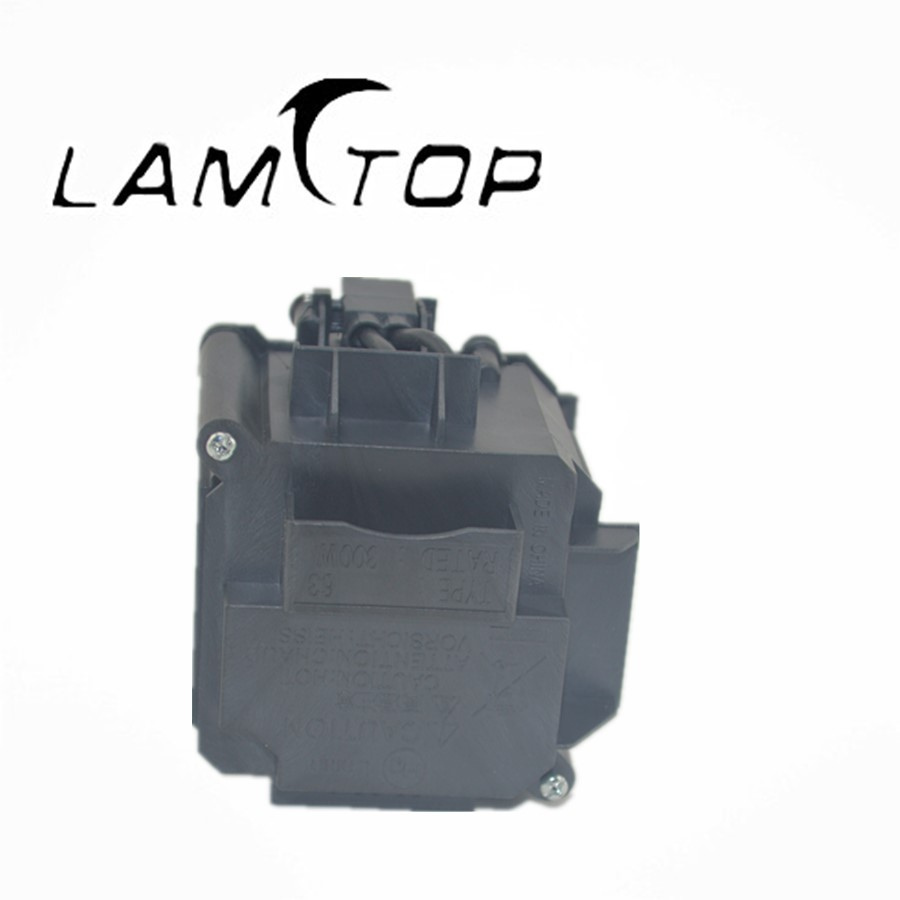 FREE SHIPPING  LAMTOP  180 days warranty  projector lamps with housing  ELPLP63/V13H010L63  for  EB-C450WH free shipping new projector lamps bulbs elplp55 v13h010l55 for epson eb w8d eb dm30 etc